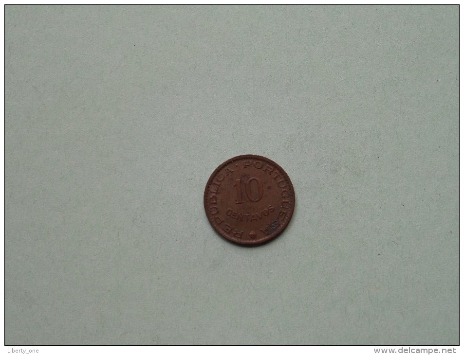 10 Centavos - 1958 / KM 30 ( India Portugueza / For Grade, Please See Photo ) ! - Portugal