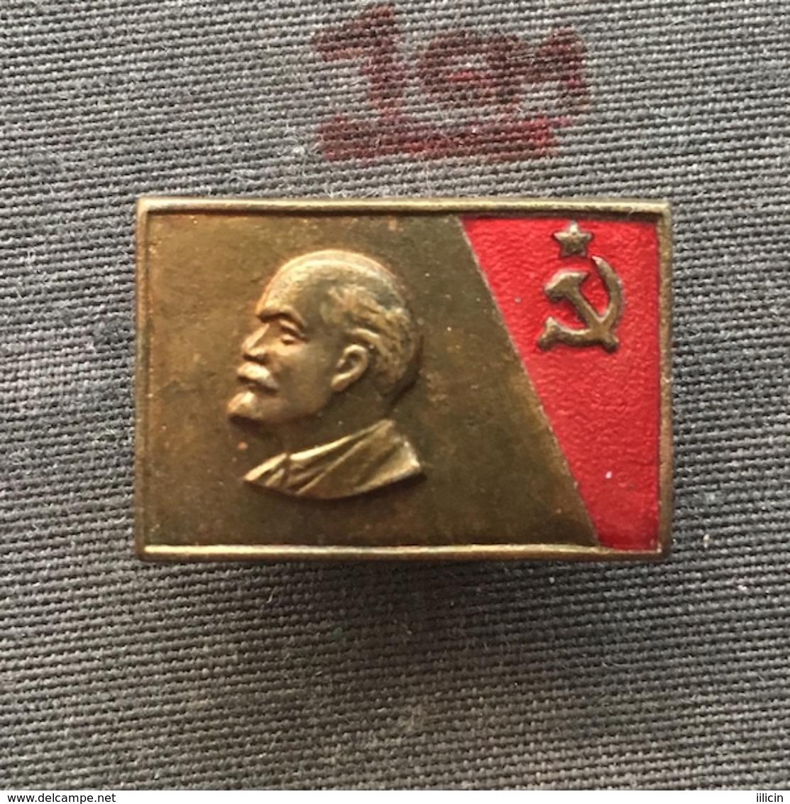 Badge (Pin) ZN006761 - Vladimir Ilyich Ulyanov Lenin Communist Russia Soviet Union (SSSR / CCCP / USSR) - Berühmte Personen