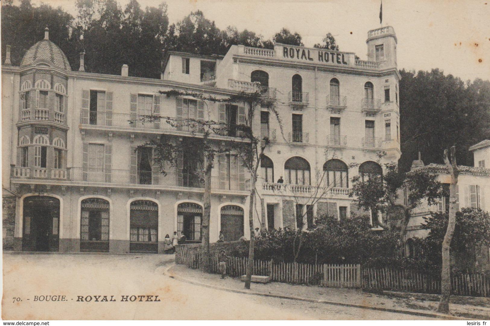 CPA -  BOUGIE - ROYAL HOTEL - 70 - A. CARAVANO - Otras Ciudades