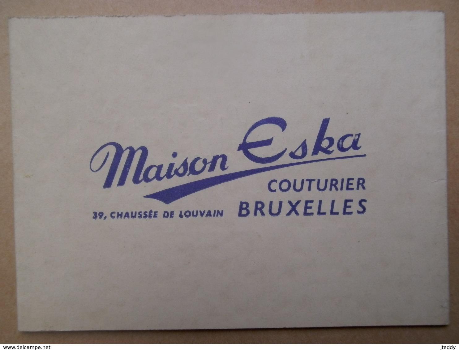 Kalender 1953 Maison Eska Bruxelles - Petit Format : 1941-60