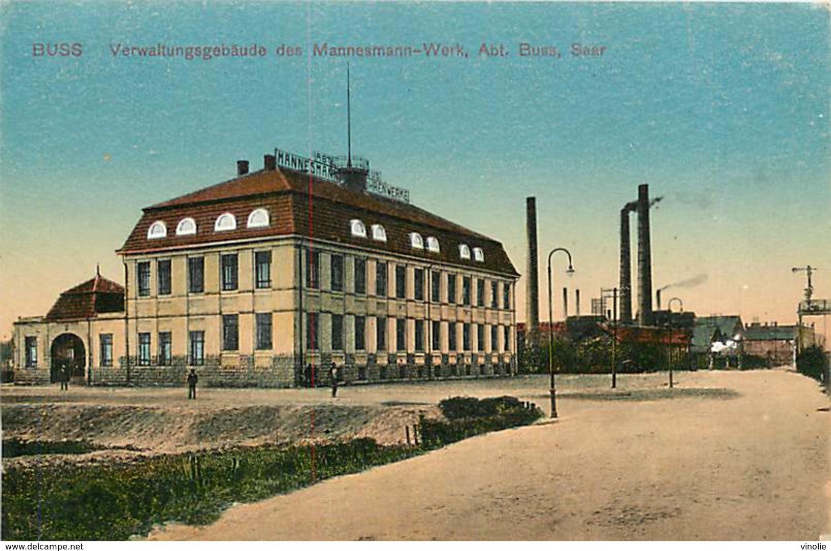 PIE-R-18-1422 : BUSS VERWALUNGSGEBÄUDE DES MANNESMANN-WERK. ABT . BUSS. SAAR. - Altri