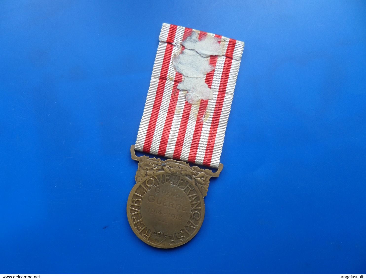 Medaille  Commemorative 14-18 , Medaille France WW1  , Medaille - Francia