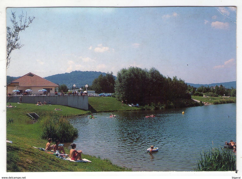 CP.  88 . REMIREMONT . LE PLAN   D'EAU - Remiremont
