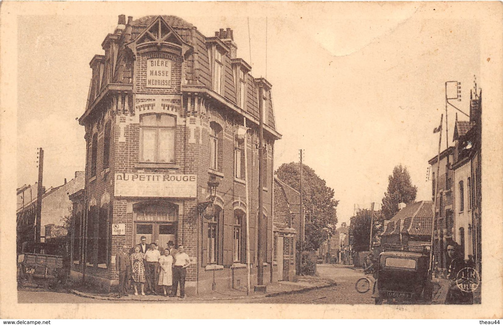 """¤¤   -  LILLE - MARCQ   -  Rue Du Buisson  -  """" Au Petit Rouge """"  -  ¤¤ - Lille"""