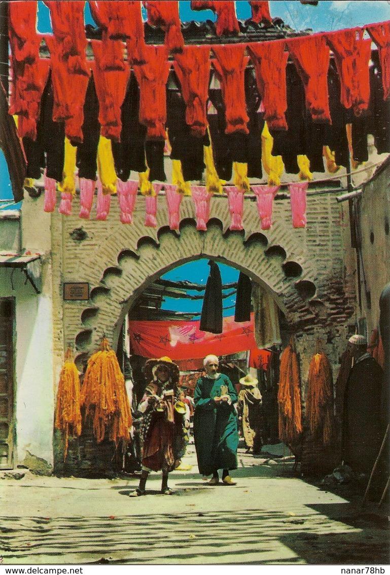 CPM Maroc, Marrakech, Le Souk Des Teinturiers - Marrakesh