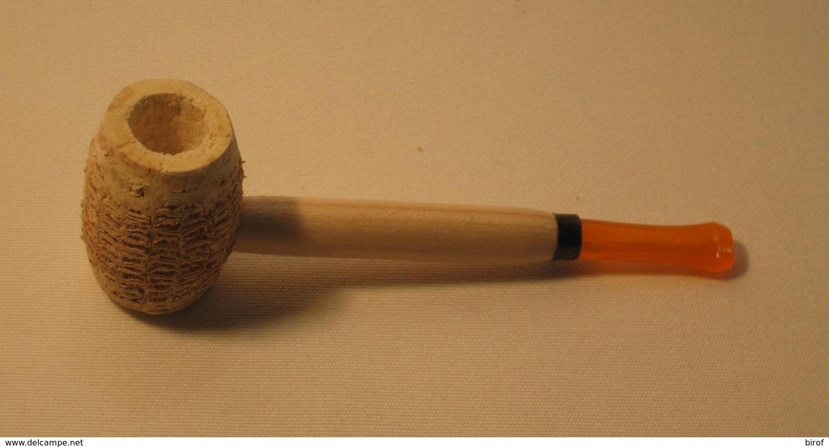 PIPA IN PANNOCCHIA - NUOVA - ( N° 3) - Pipes En Bruyère
