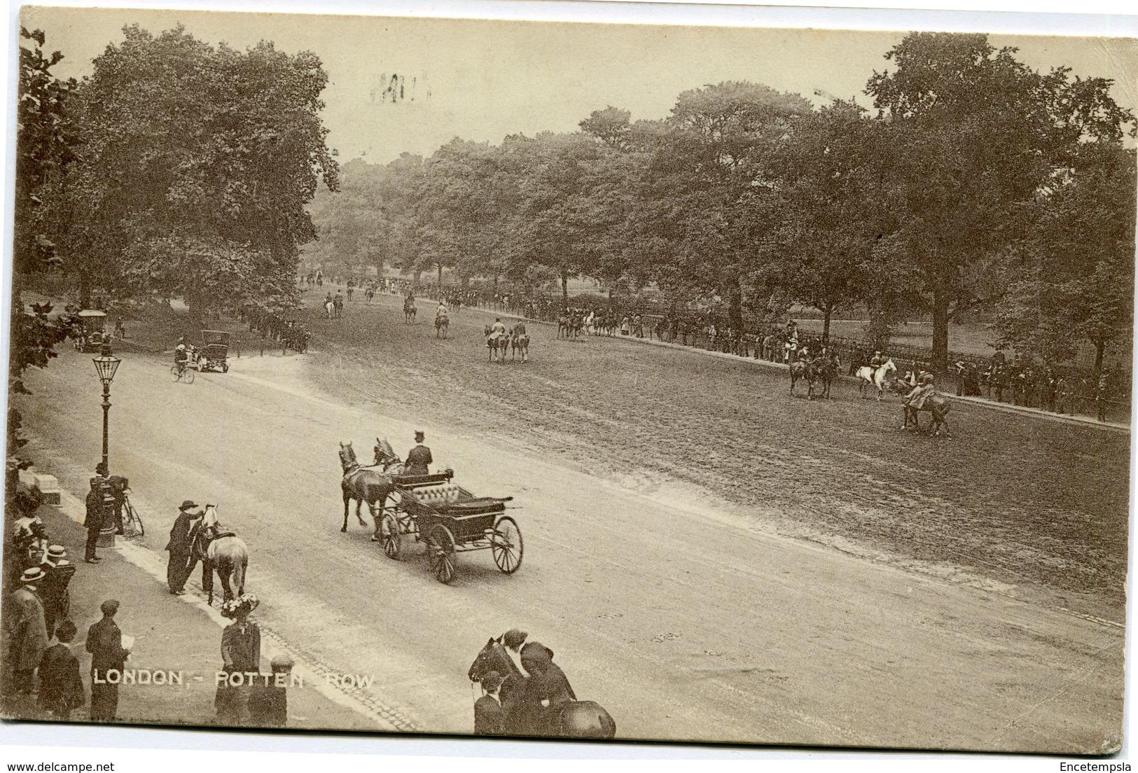 CPA - Carte Postale - Royaume-Uni - Angleterre - London - Rotten Row  (CP1853) - London
