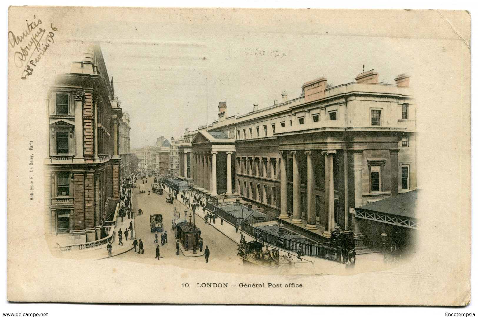 CPA - Carte Postale - Royaume-Uni - Angleterre - London - Général Post Office - 1906  (CP1854) - Other