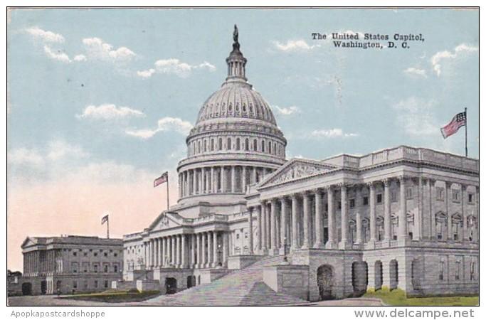 Washington D C The United States Capitol