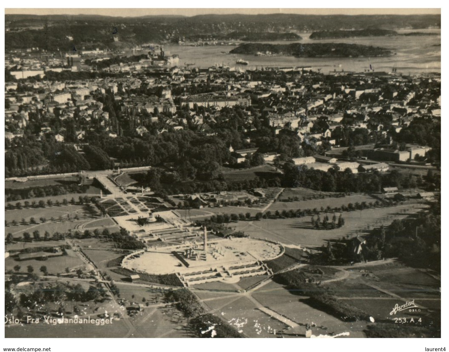 (789) Very Old Postcard - Norway - Oslo - Norway