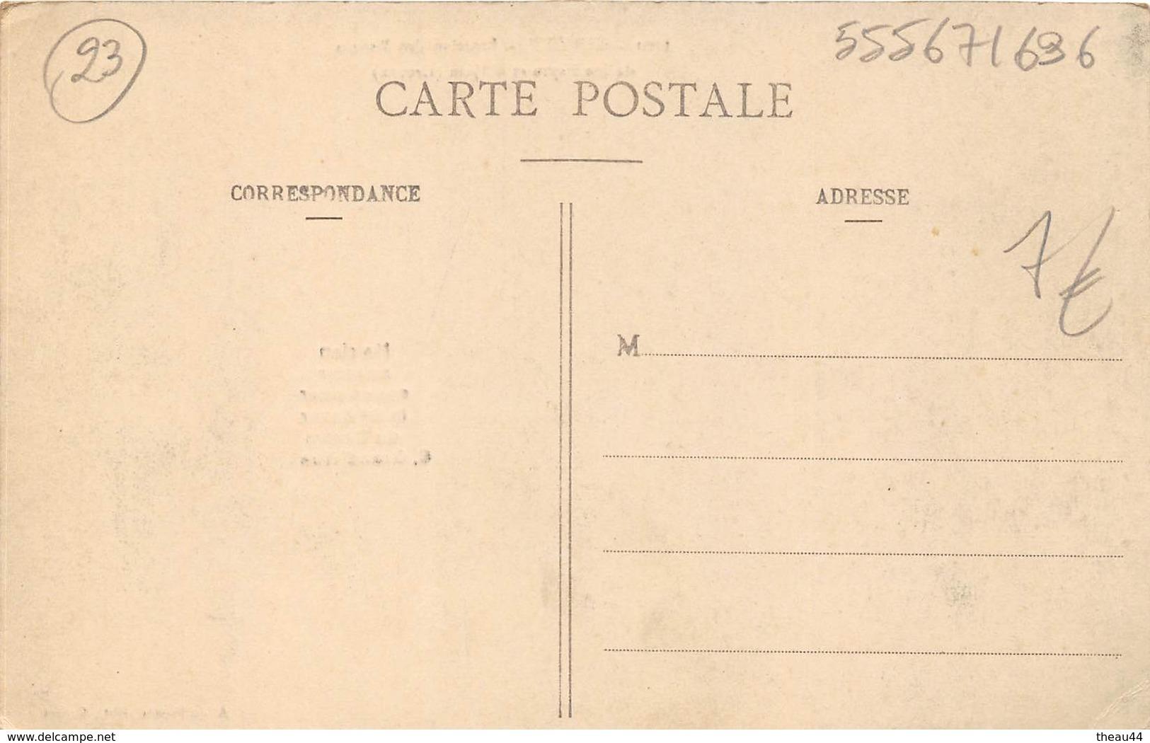 ¤¤   -  GUERET   -  Jonction Des Routes De Sainte-Feyre Et D'Ajain  -  ¤¤ - Guéret
