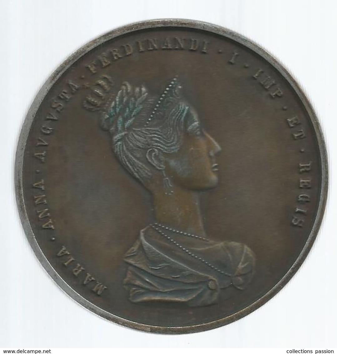 Medaille, Allemagne , Germany Et Altera... , Maria Anna Augusta Ferdinandi, 2 Scans ,frais Fr 2.85 E - Royal / Of Nobility