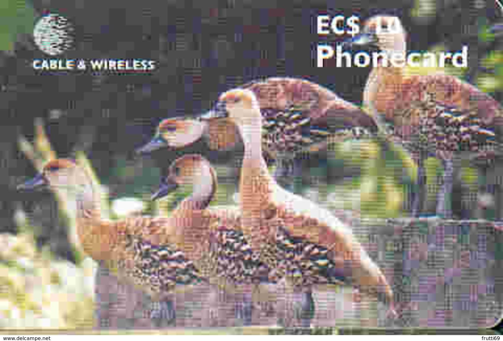 ANTIGUA & BARBUDA - TK 32553 Chip Indian Tree Duck - Antigua And Barbuda