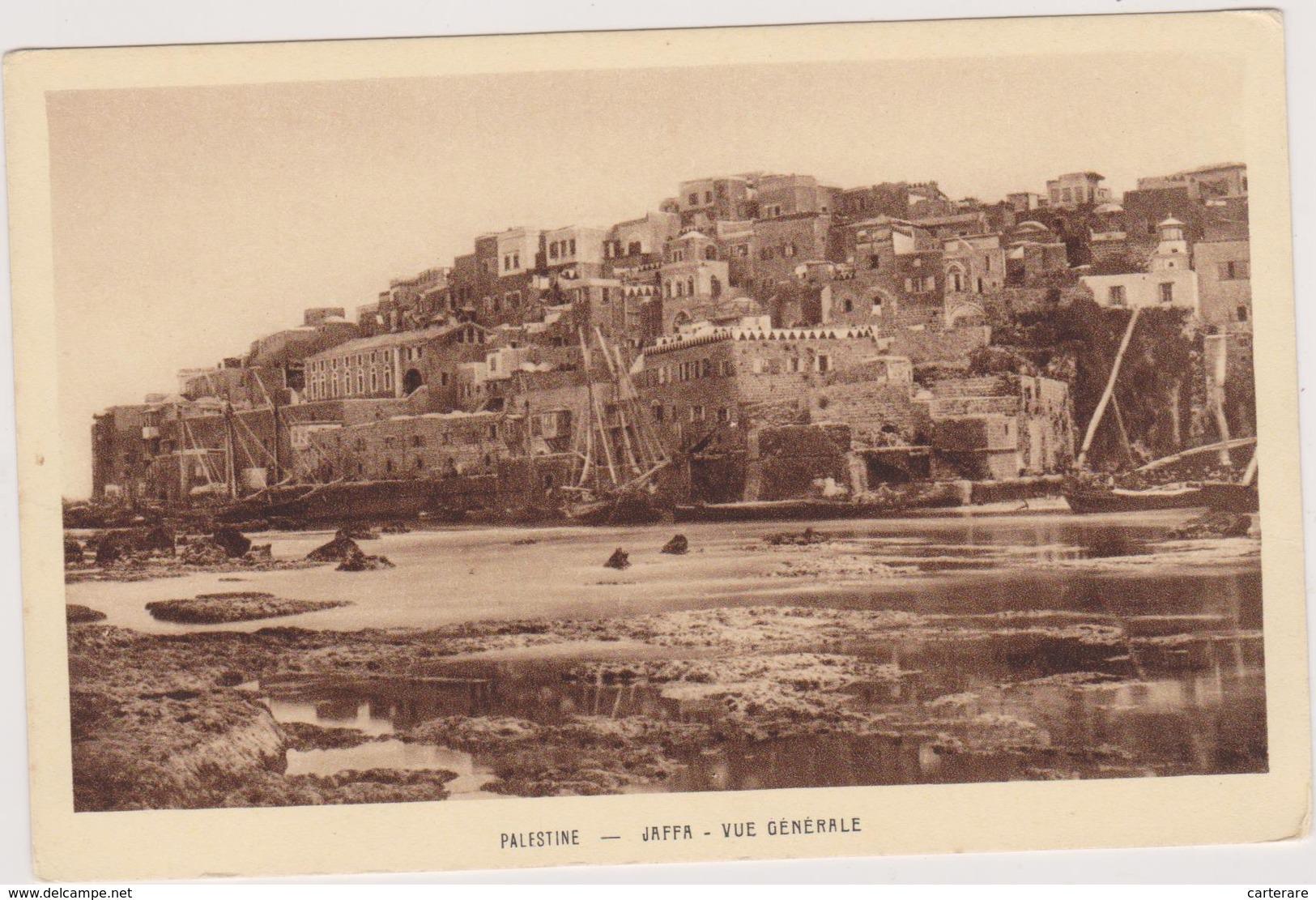 ISRAEL,palestine,jaffa,le Port,il Ya Trés Longtemps,avant Sa Rénovation,plaque Tournante Du Commerce - Israele