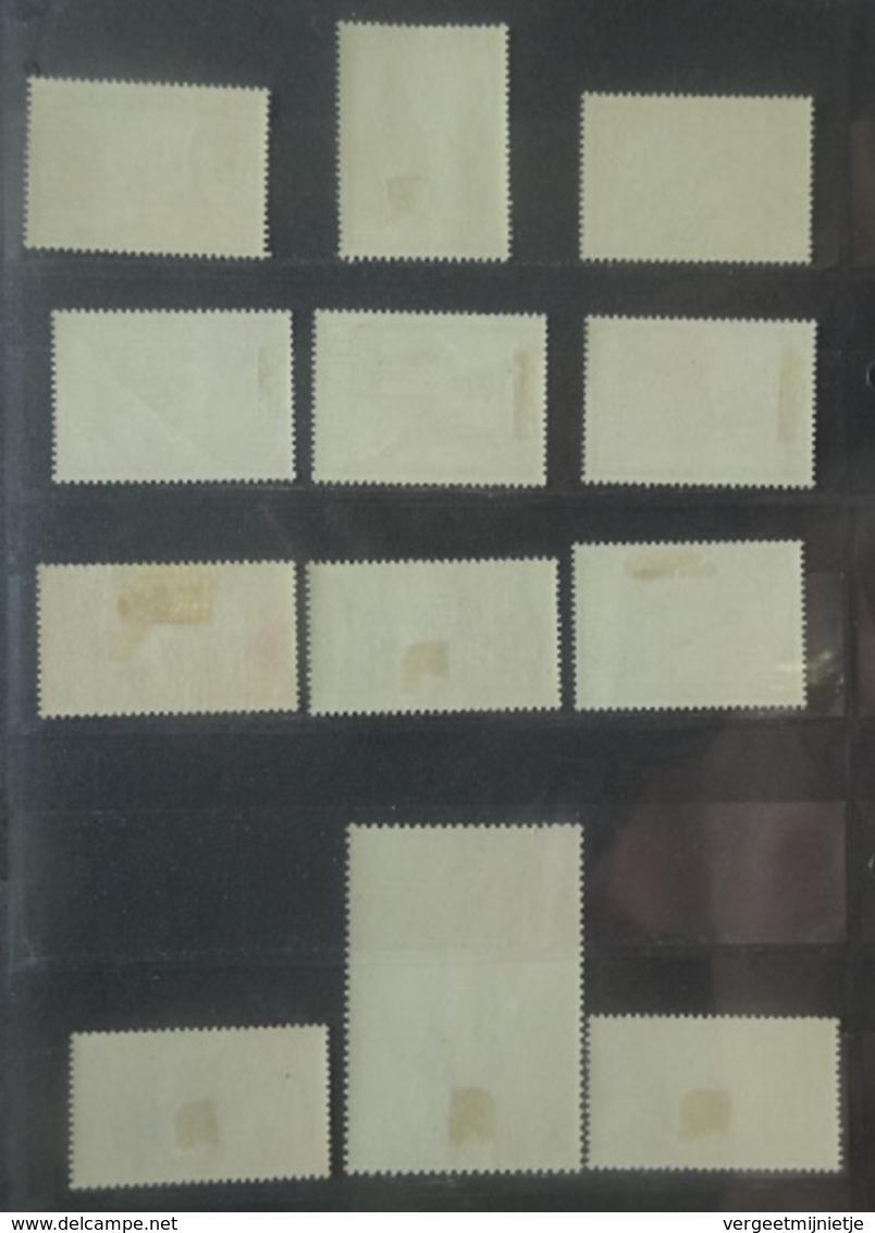 BELGIE   1932   'Tweede Orval'    Nr. 363 - 374   Licht Spoor Van Scharnier *   CW  1100,00 - Belgique