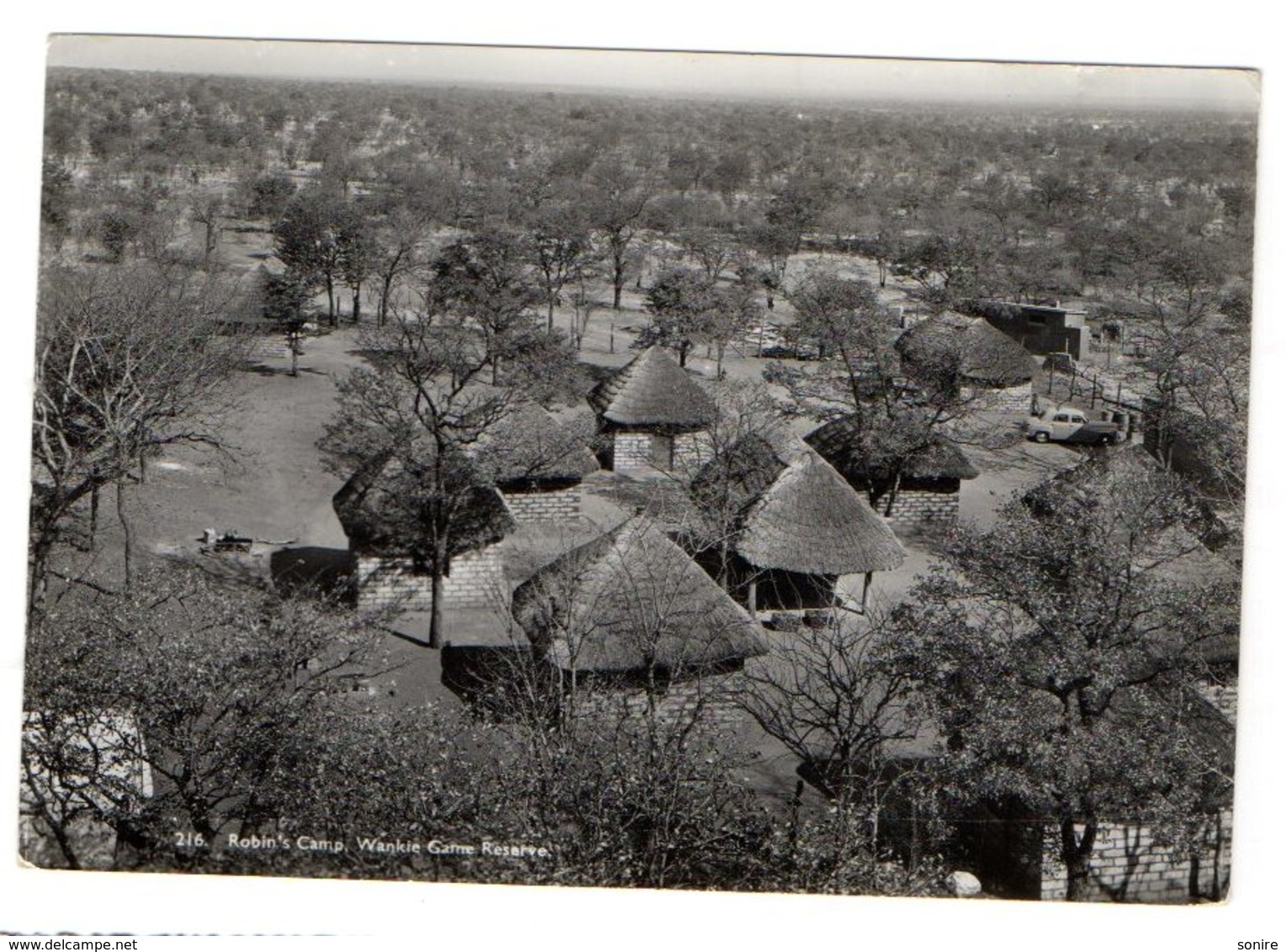 Zimbabwe - Wankie Game Reserve - Robin's Camp - VG FG - C864 - Zimbabwe