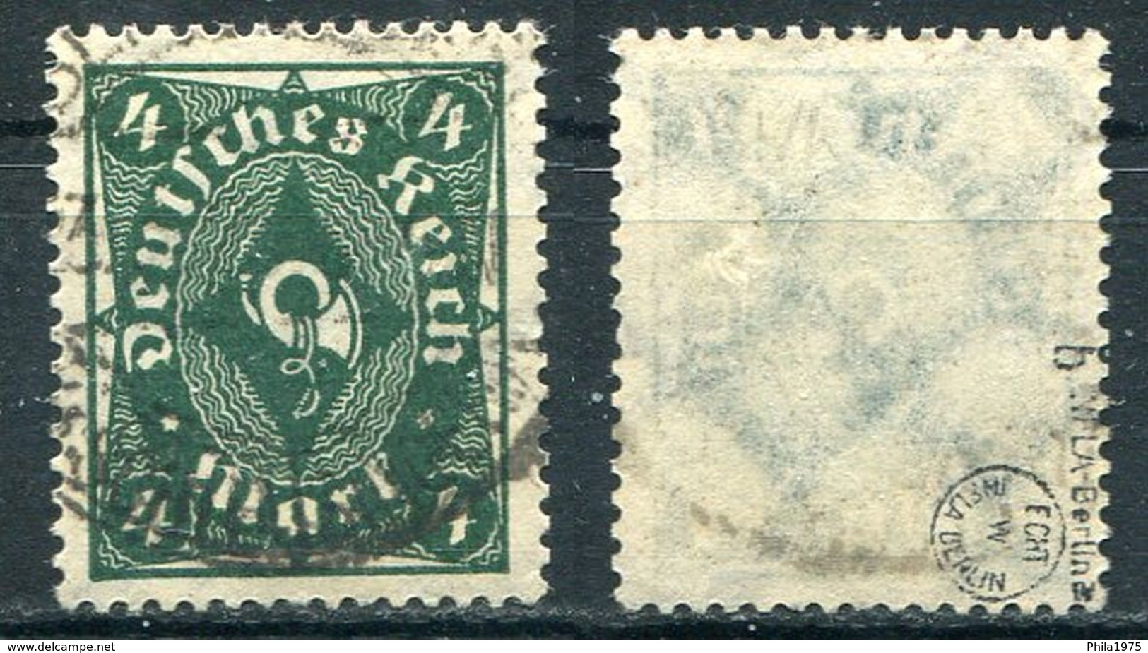 Deutsches Reich Michel-Nr. 226b Gestempelt - Geprüft - Gebraucht