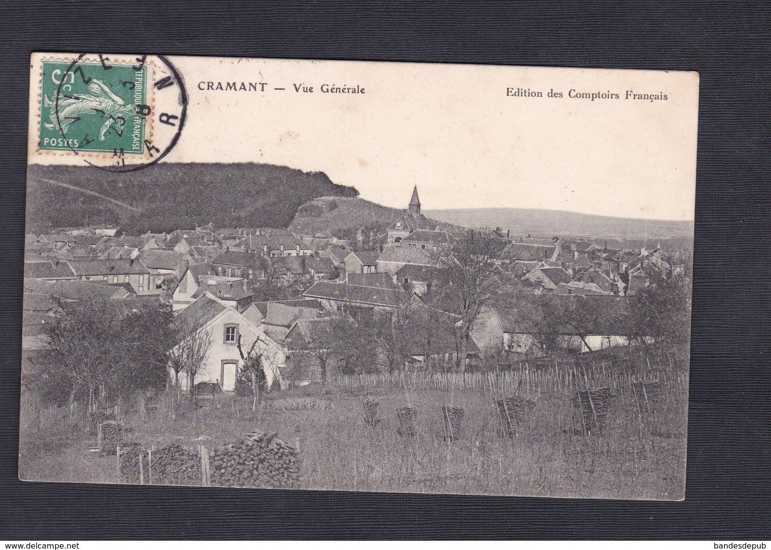 Cramant (51) Vue Generale ( Edition Des Comptoirs Francais ) - France