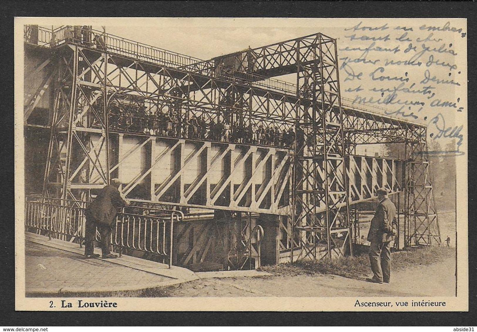 LA LOUVIERE - Ascenseur , Vue Intérieure - La Louvière