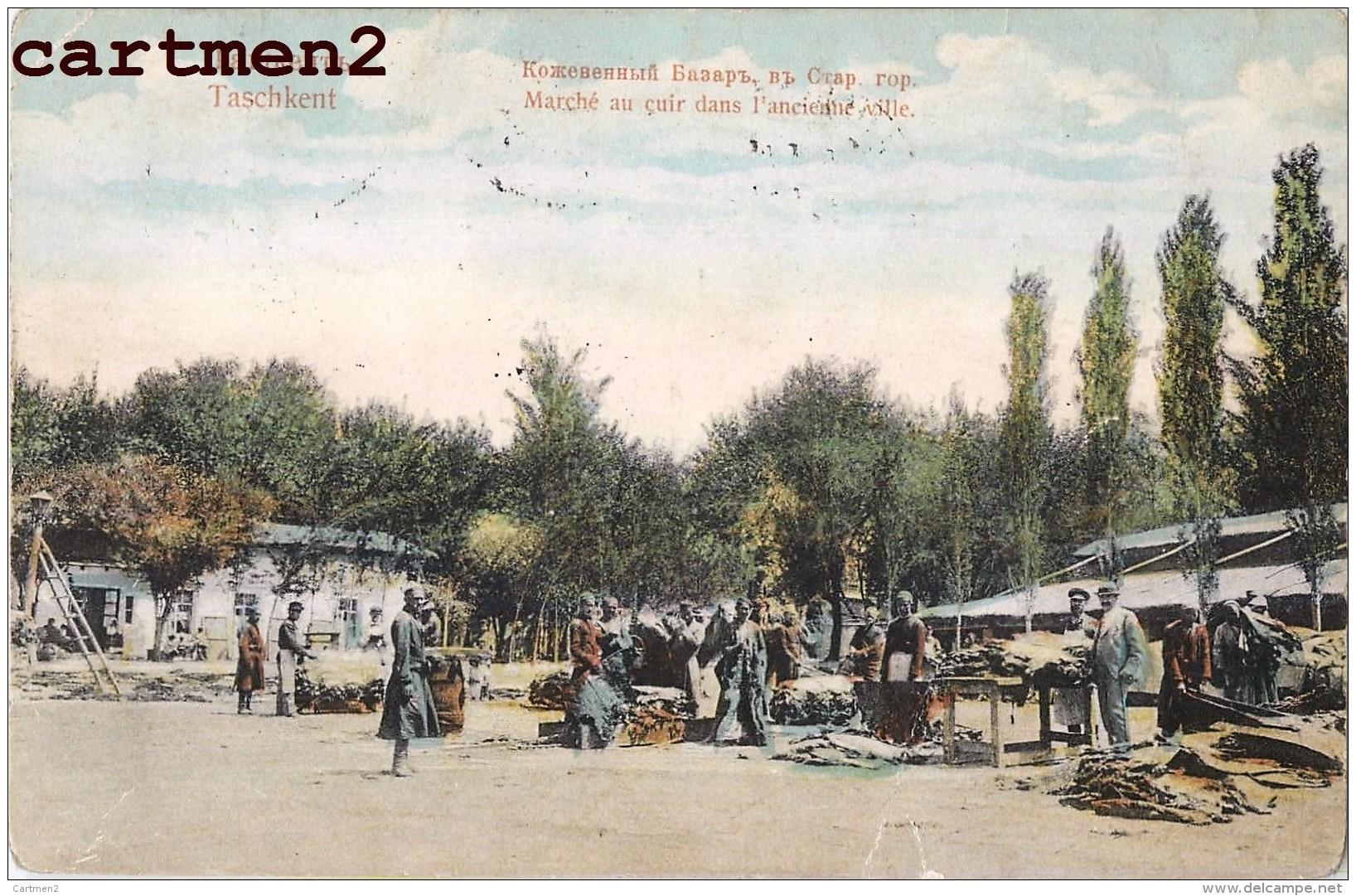 TASCHKENT MARCHE AU CUIR OUZBEKISTAN RUSSIE RUSSIA Toshkent - Uzbekistan