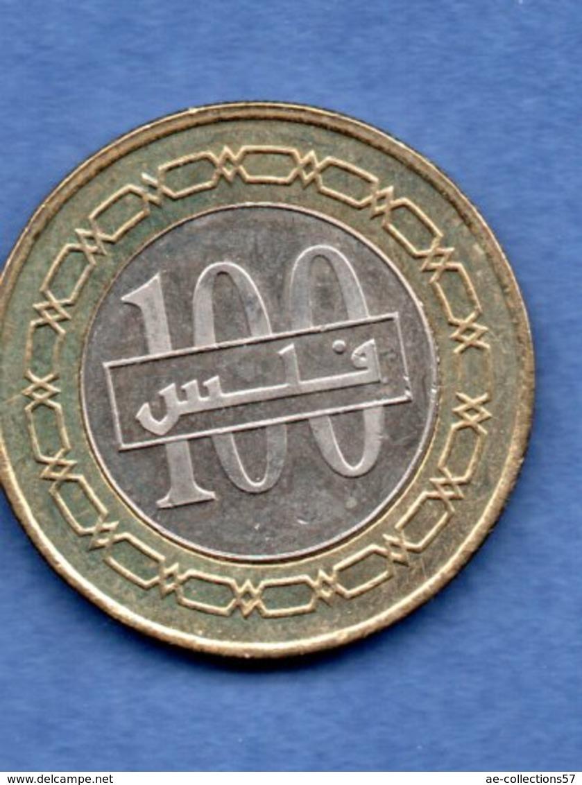 Bahrein    - 100 Fils  2009   -  Km  # 29  - état SUP - Bahreïn