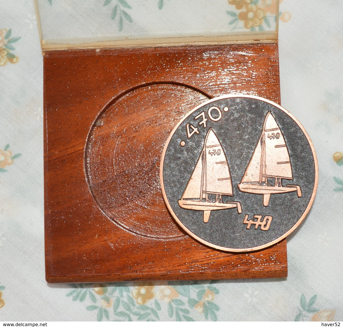 Brons Medal Tallinn 1980 _ 470 CLASS SAILING - Kleding, Souvenirs & Andere