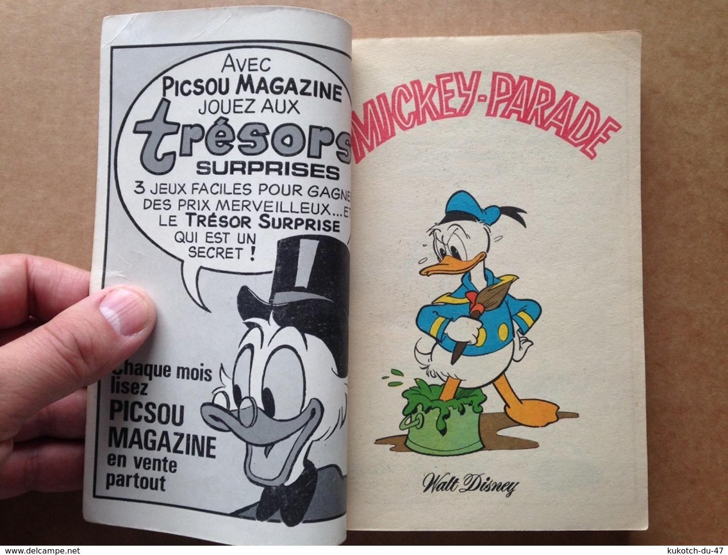 Disney - Mickey Parade - Année 1978 - N°1336 Bis (avec Grand Défaut D'usure) - Mickey Parade
