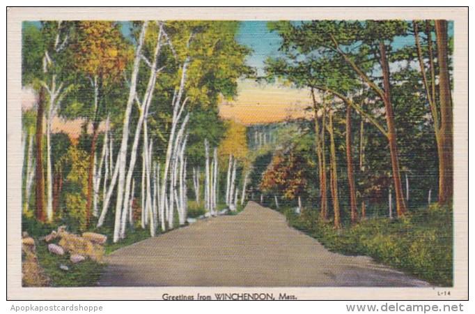 Massachusetts Greetings From Winchendon