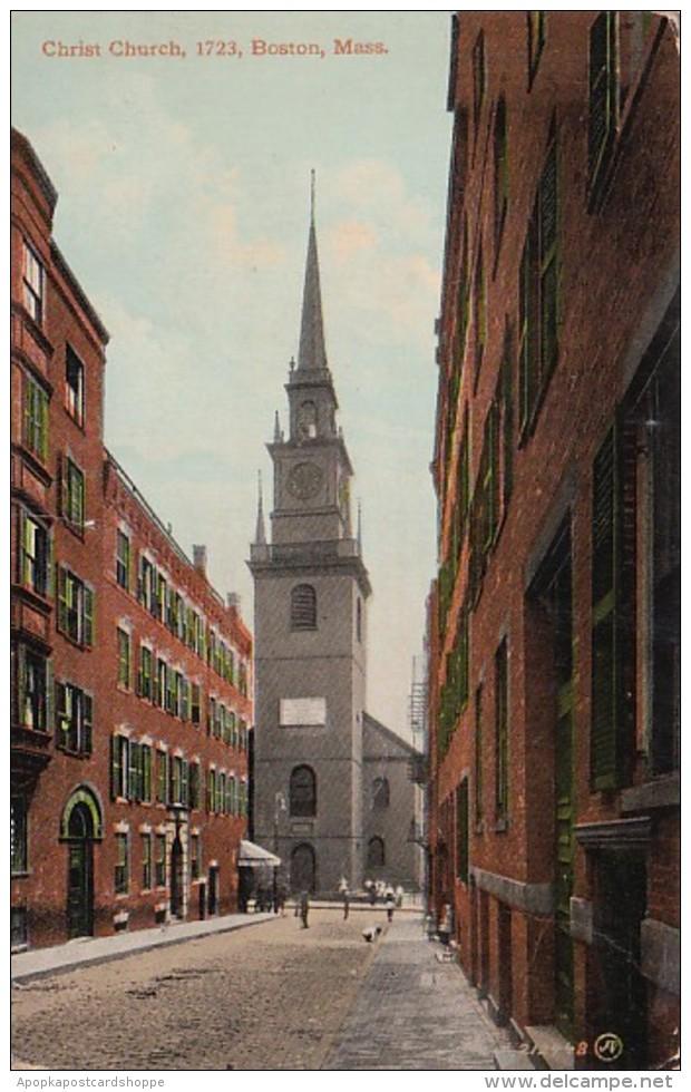 Massachusetts Boston Christ Church