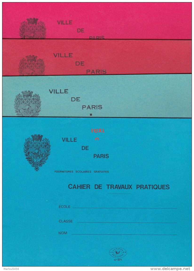 15   CAHIERS  DE TRAVAUX PRATIQUES D'ECOLE ANNEE 1960 - Blotters