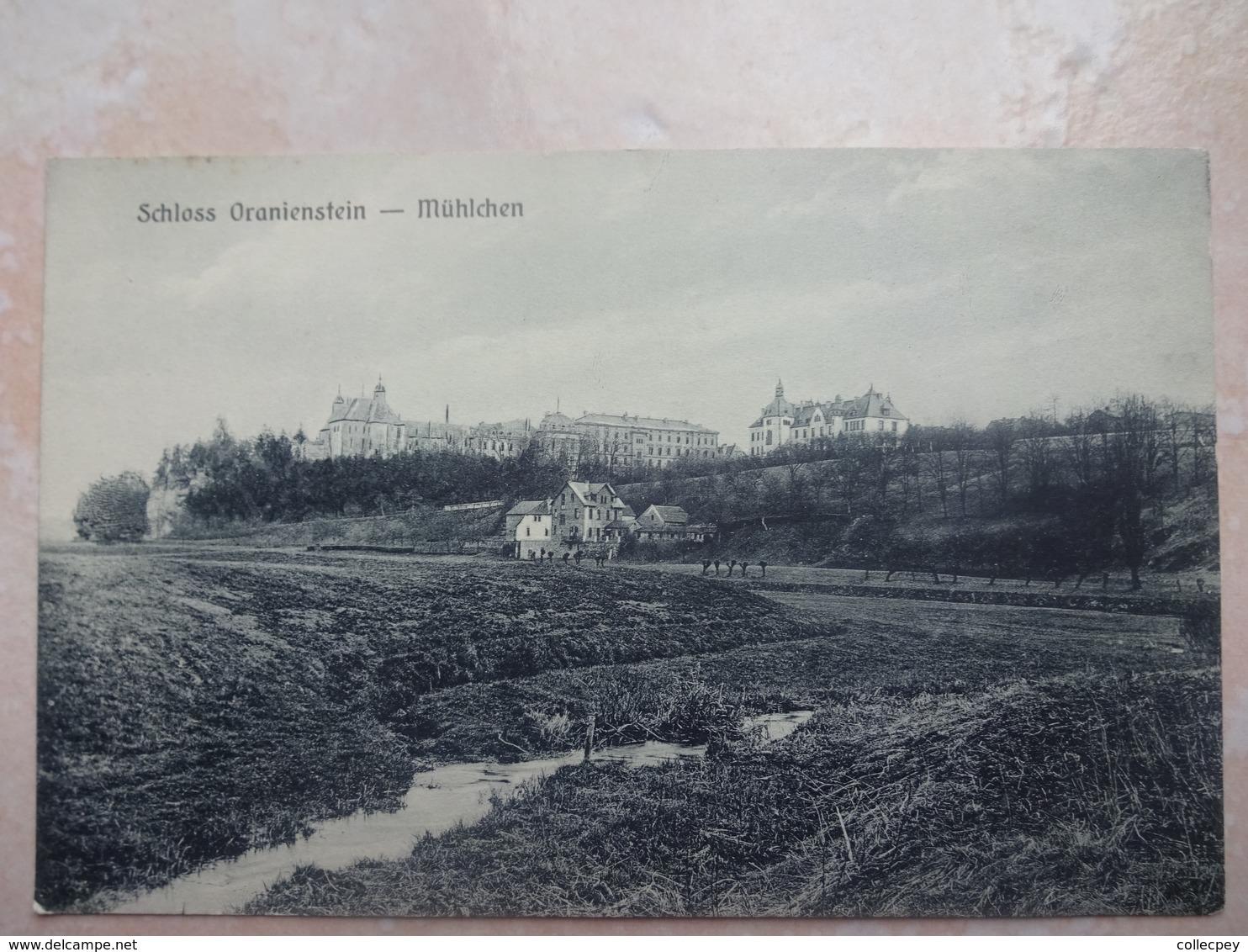 CPA ALLEMAGNE Schloss Oranienstein - Muhlchen - Diez