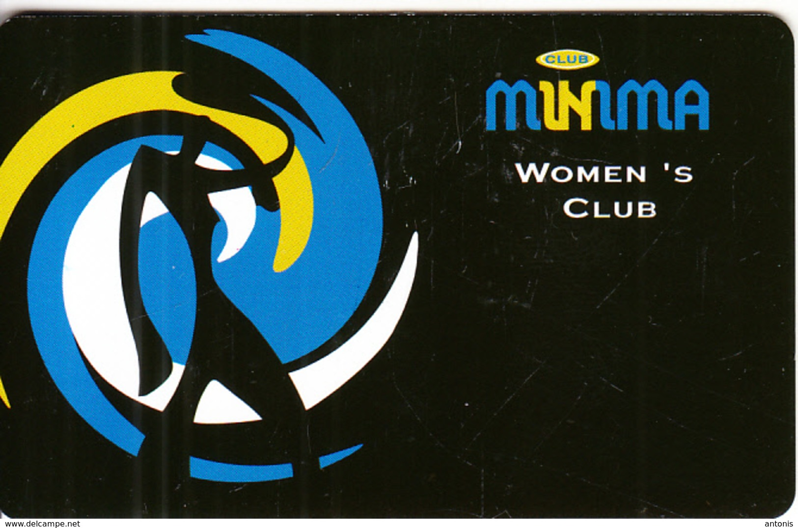 "GREECE - Minima Women""s Club, Member Card, Sample - Unclassified"