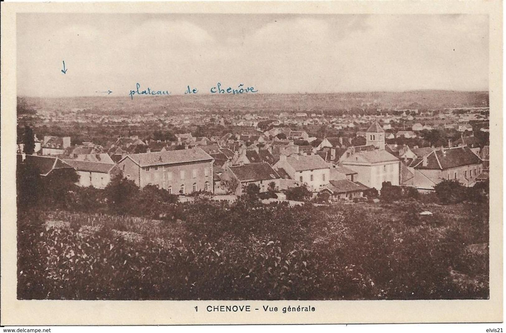 CHENOVE Vue Générale - Chenove