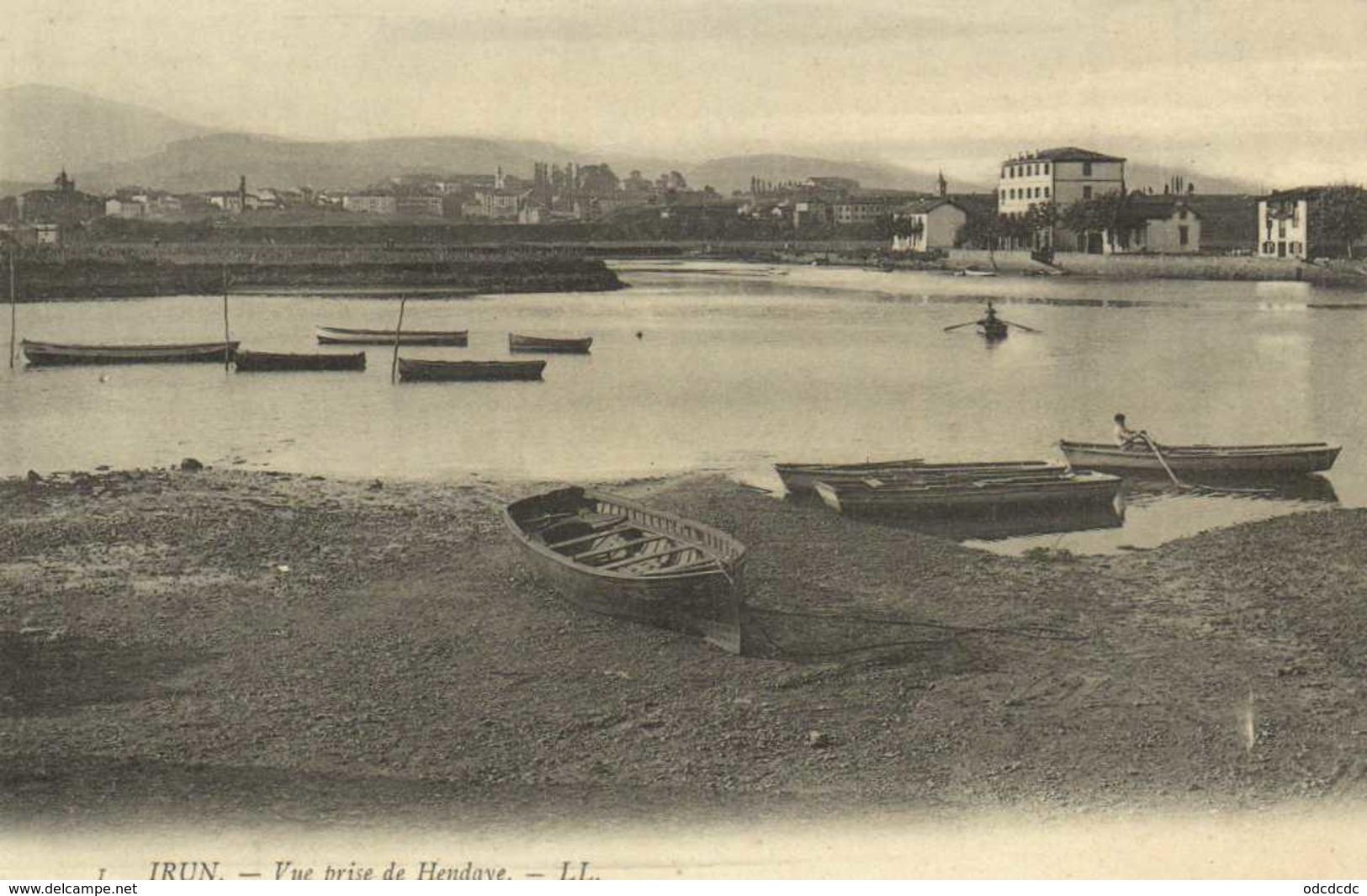 IRUN  Vue Prise De Hendaye RV - Guipúzcoa (San Sebastián)