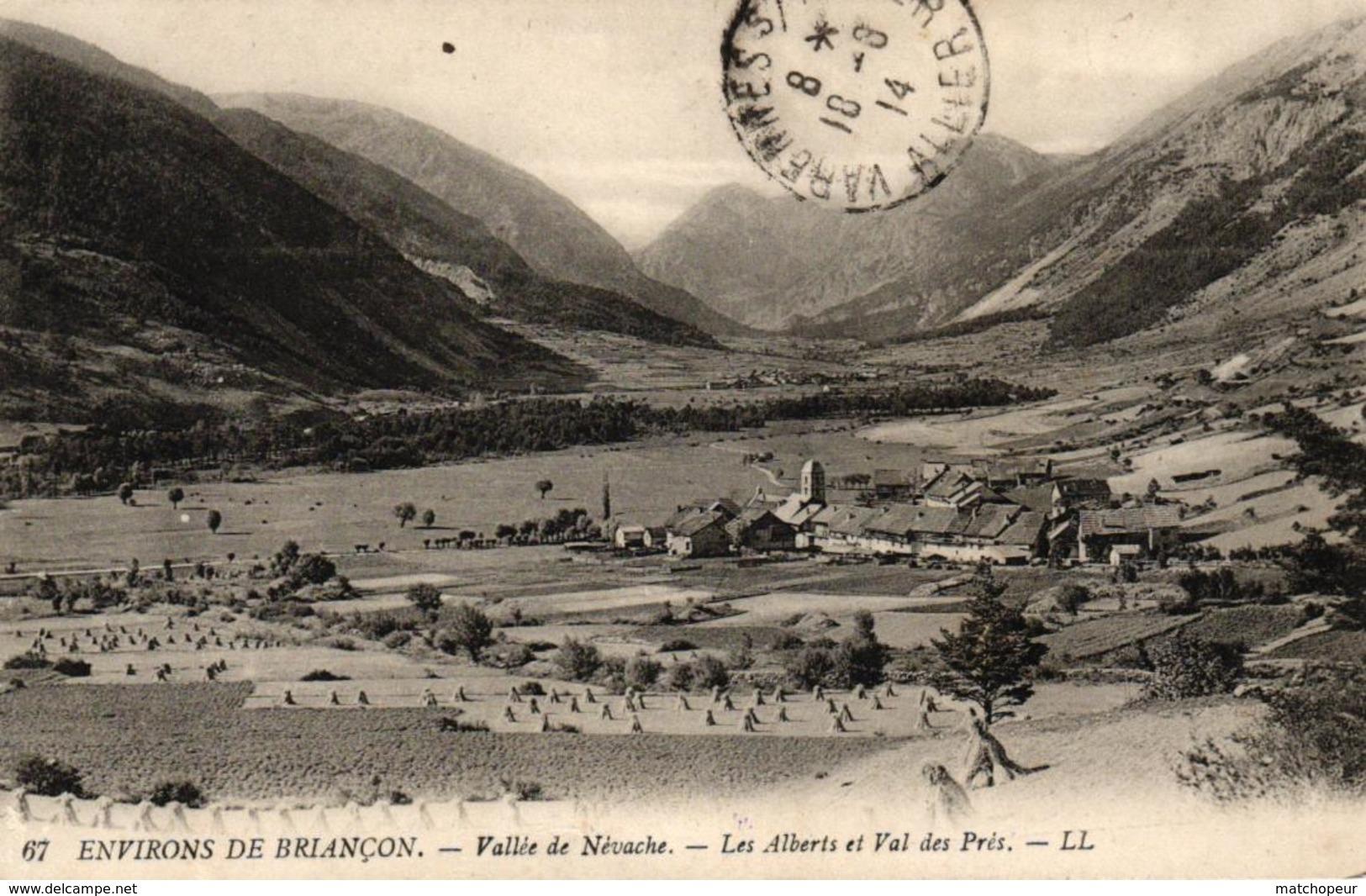 ENVIRONS DE BRIANCON -05- VALLEE DE NEVACHE LES ALBERTS ET VAL DES PRES - Briancon