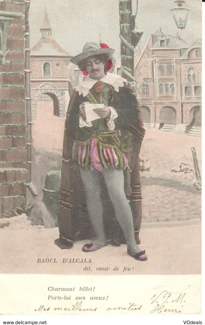 Fantaisie - CPA - Opera - Raoul D'Alcala - Dit, Coeur De Feu - Opéra