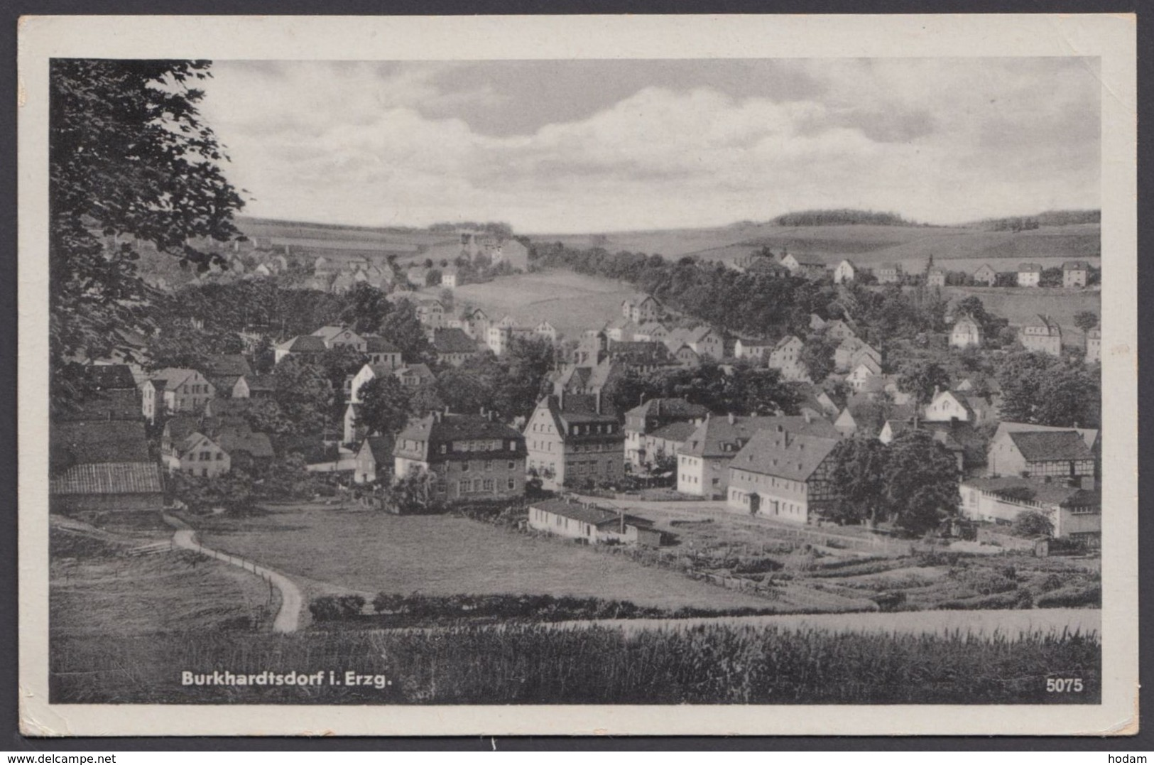 """Burkhardtsdorf"", Fotokarte, 1953 - Burkhardtsdorf"