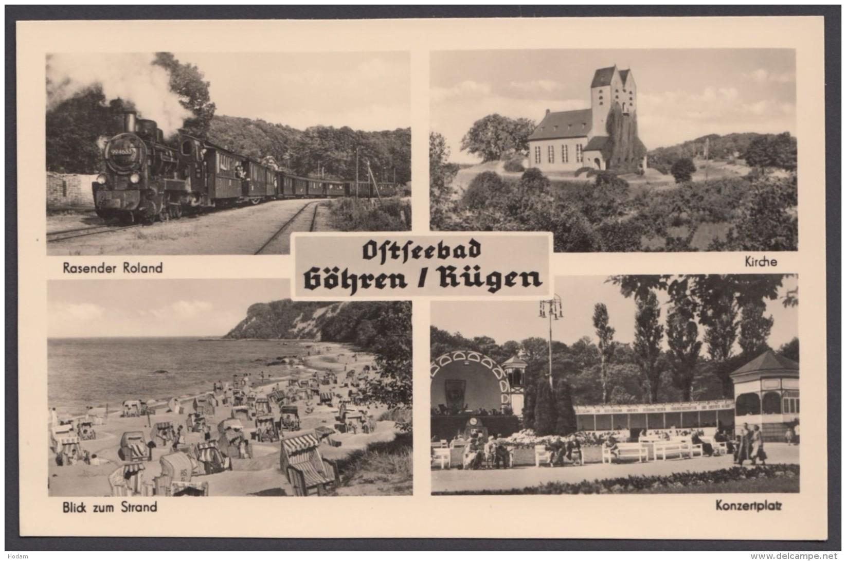 """""""Göhren"""", Mehrbild-Fotokarte, 1961 - Göhren"""