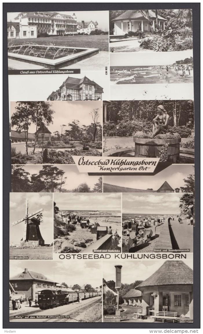 """""""Kühlungsborn"""", 3 Versch. Fotokarten, 1971/3 - Kühlungsborn"""