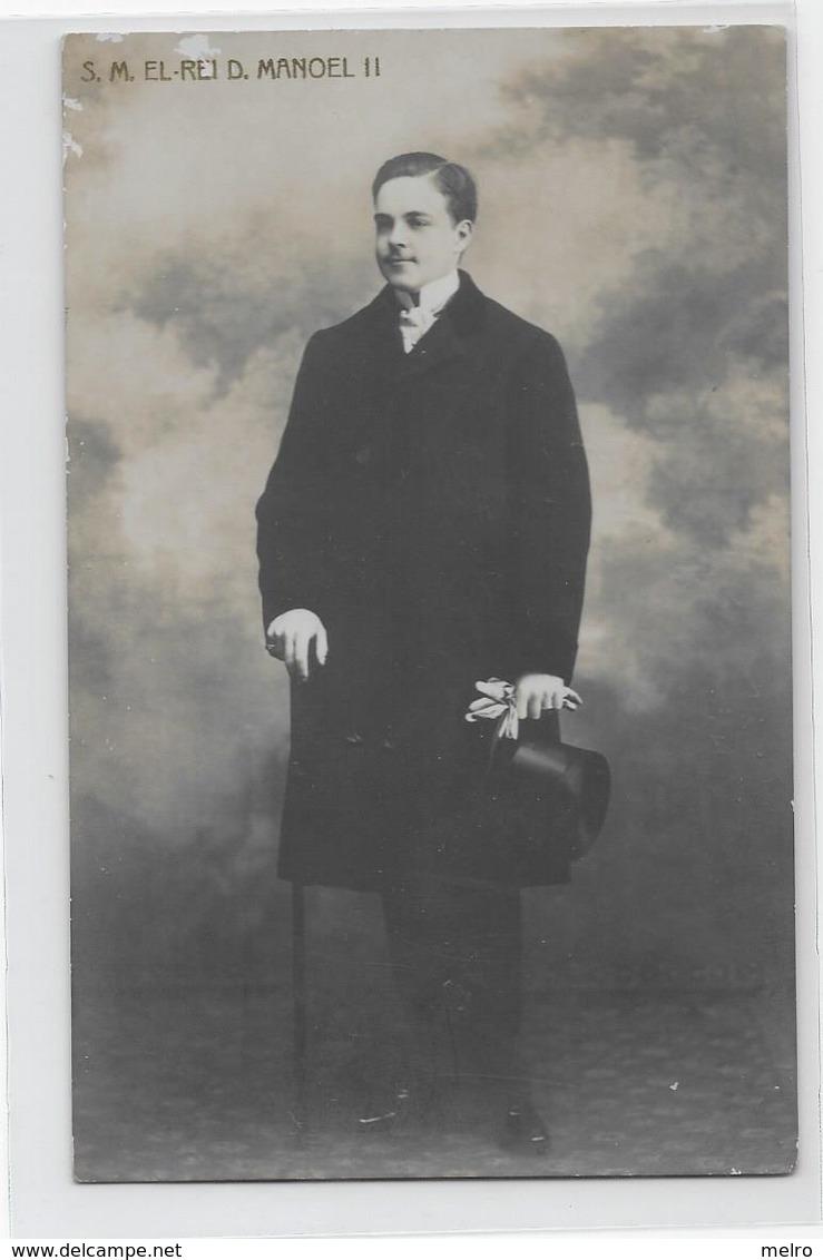 PORTUGAL- S.M. Rei D. Manoel Ll - Familles Royales