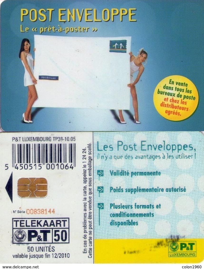 TARJETA TELEFONICA DE LUXEMBURGO. TP38 (092) - Erótica (Adultos)