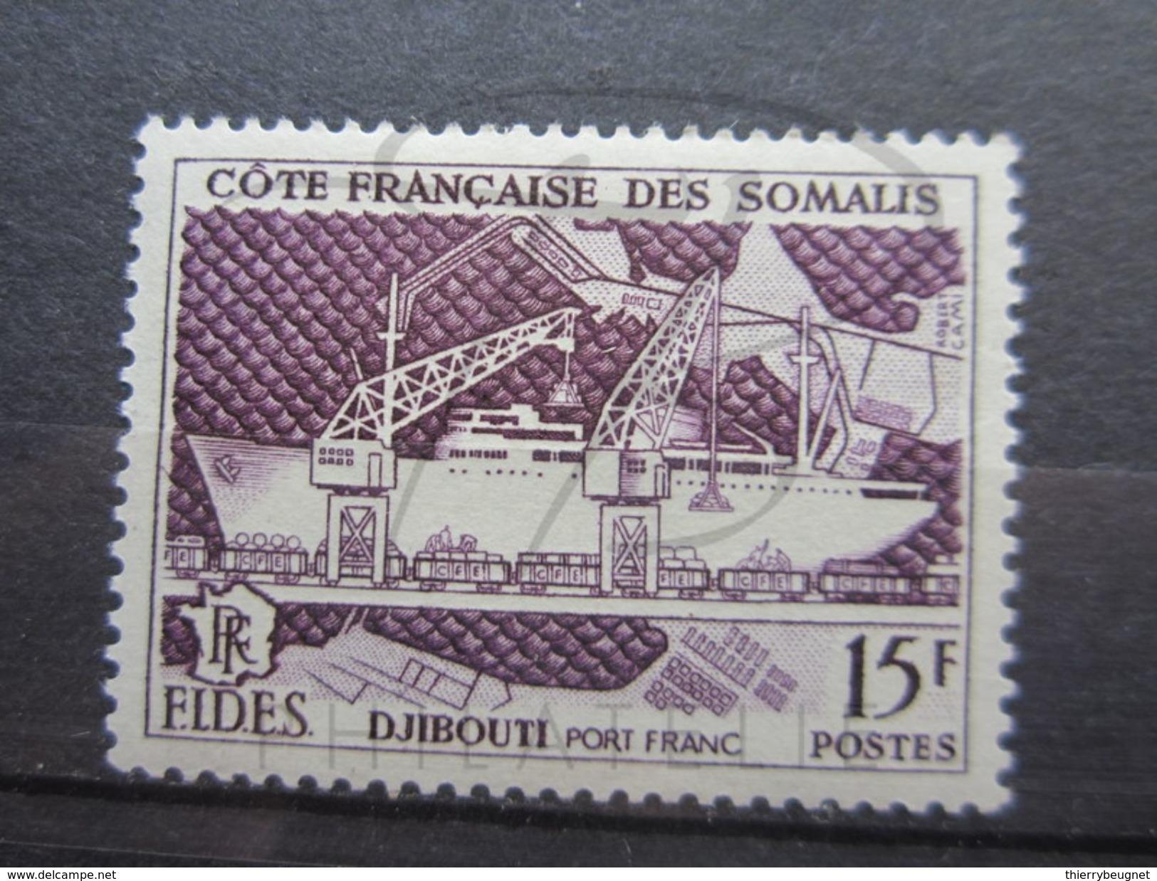VEND BEAU TIMBRE DE LA COTE FRANCAISE DES SOMALIS N° 285 , X !!! - Côte Française Des Somalis (1894-1967)