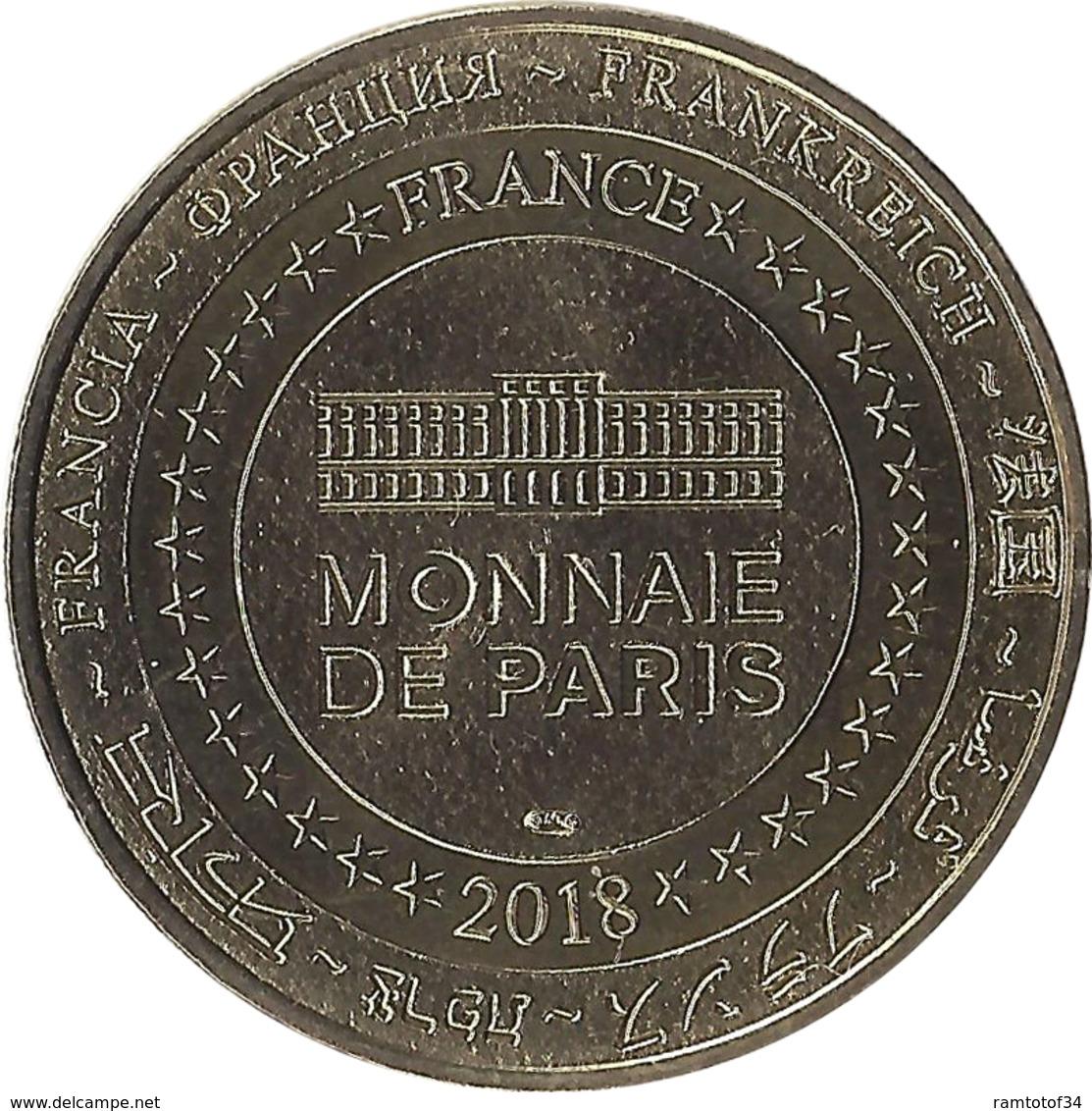 2018 MDP151 - LA MER DE SABLE 6 - Sombrero / MONNAIE DE PARIS - 2018
