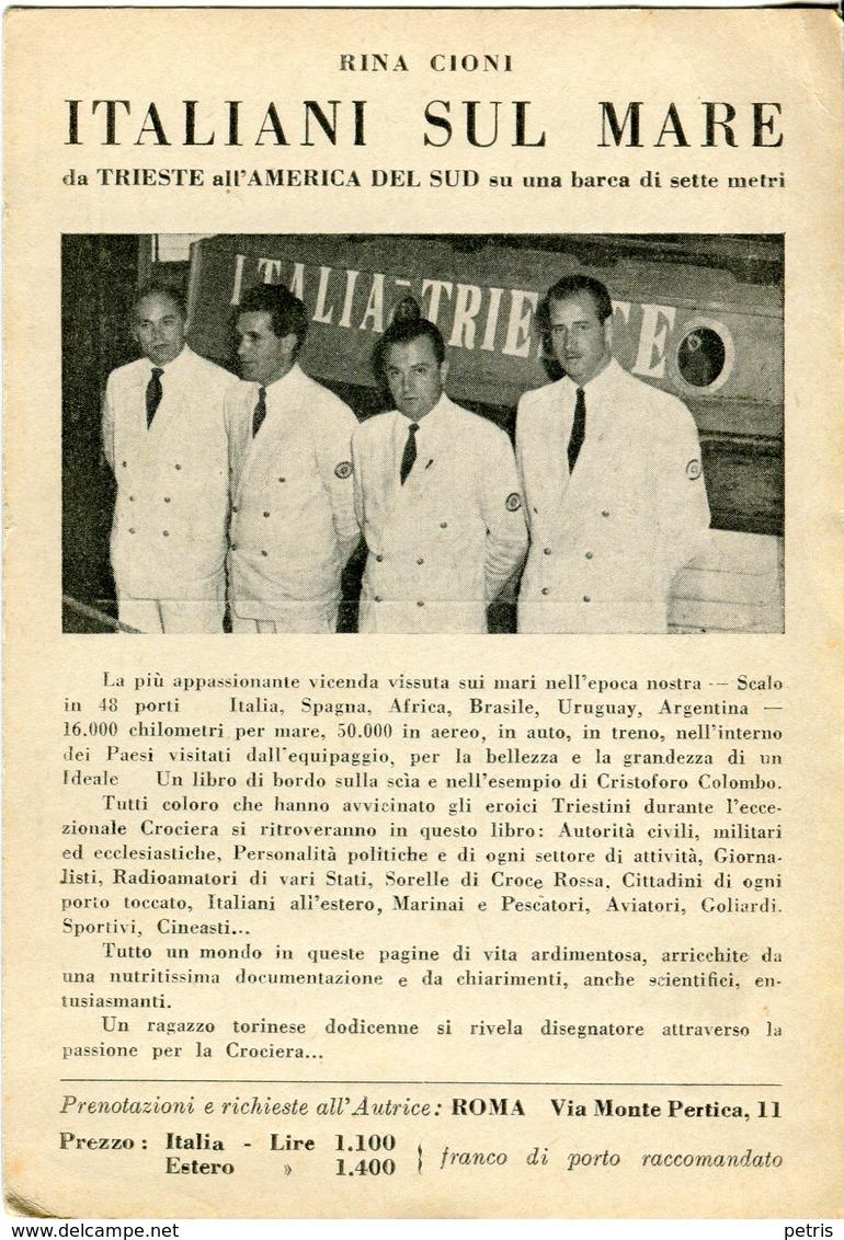 Rina Cioni. Italiani Sul Mare -Lot.1930 - Libri