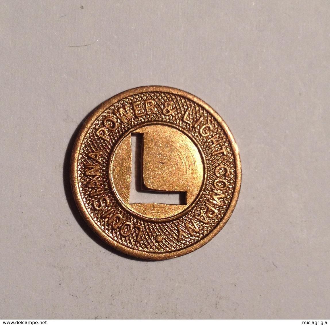 TOKEN JETON GETTONE TRASPORTO TRANSIT LOUISIANA ONE EXPREES FARE - Monetari/ Di Necessità