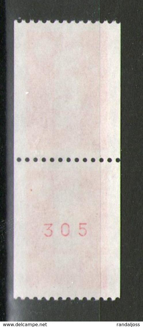 Paire N° 2819**-2819a**_N° Rouge En Gomme Brillante - 1989-96 Bicentenial Marianne