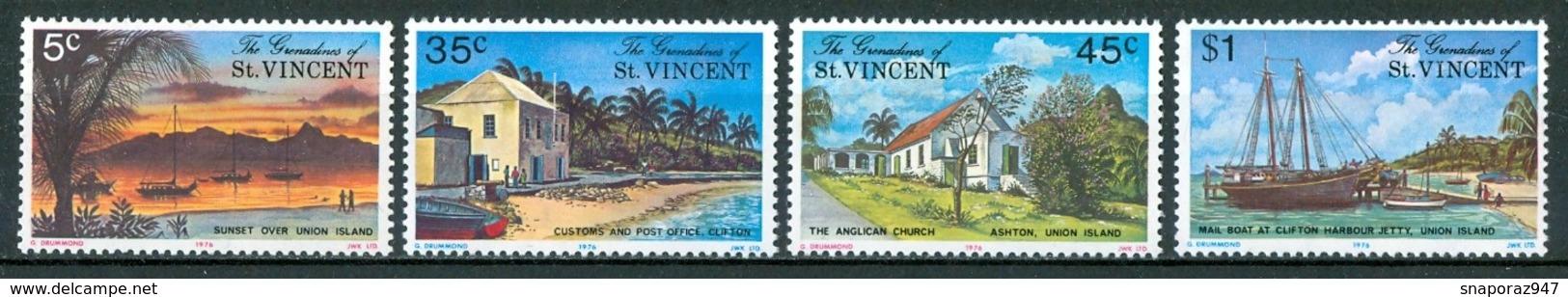 1976 St.Vincent Grenadines Paesaggi Landscapes Paysages MNH** Ye124 - St.Vincent E Grenadine