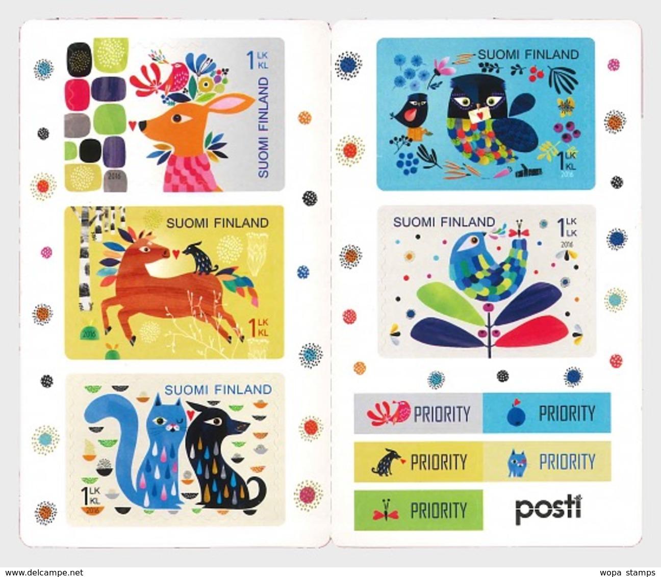 Finland 2016 Stamp Booklet - Together - Finlande