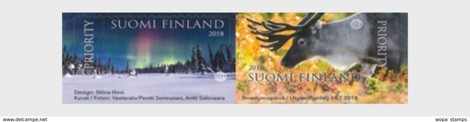 Finland 2018 Set - Spell Of Lapland - Neufs