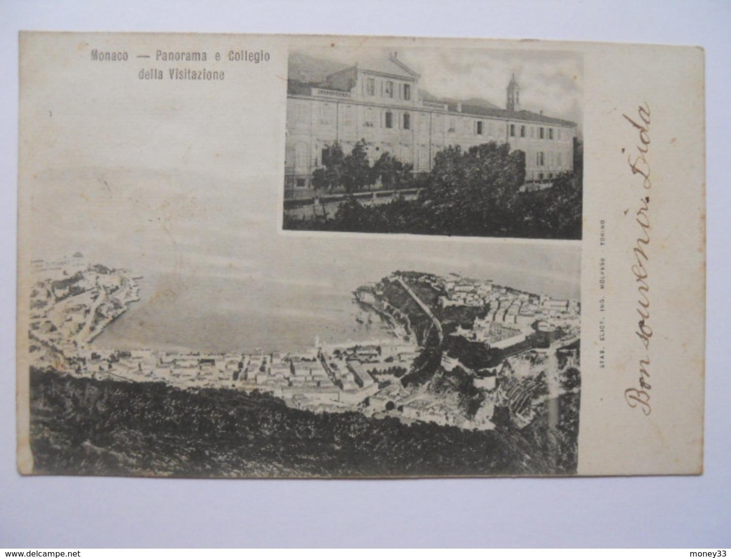 Monaco Panorama E Collegio Della Visitazione - Monaco